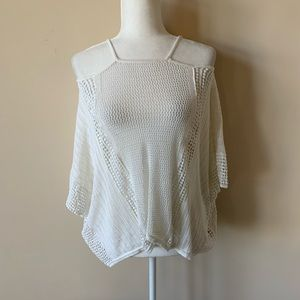 Free People cold shoulder sweater #1476